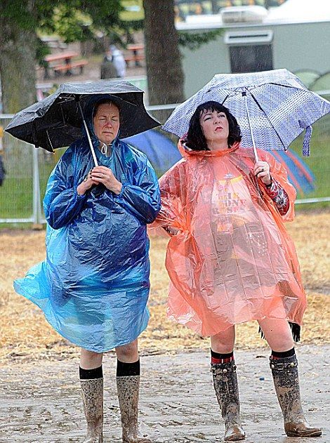 Music Fans Party In The Mud At T In The Park