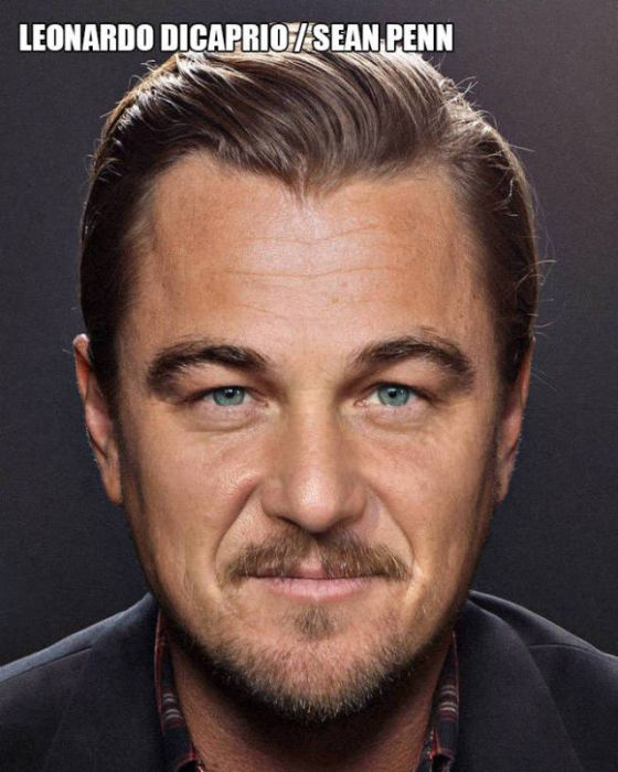 Cool Pictures That Show Celebrity Faces Merged Together