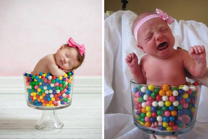 Why You Should Never Attempt To Recreate Pinterest Baby Photoshoots