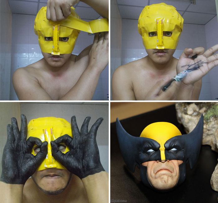 Low-Cost Cosplay Guy Returns With More Cheap Costumes