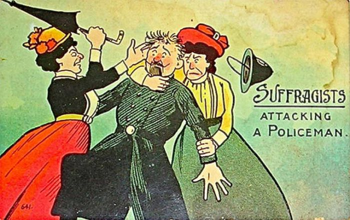 Vintage Postcards That Were Made To Discourage Women
