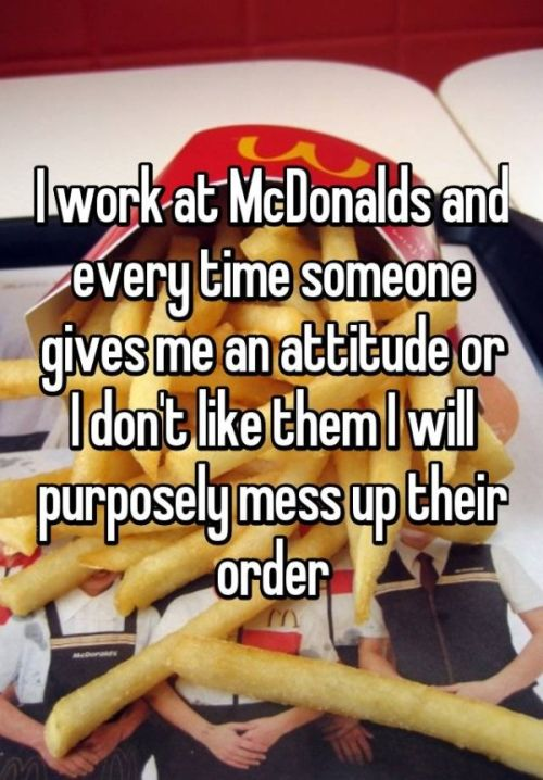 Fast Food Employees Reveal How They Mess With Customers