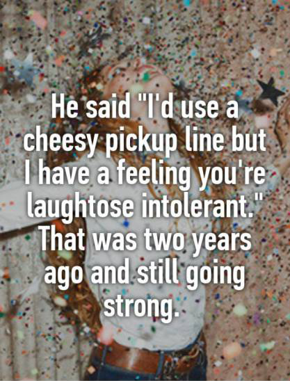Unexpected Pick Up Lines That Helped People Score