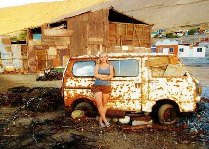 This Woman Has Explored 50 Countries By Hitchhiking