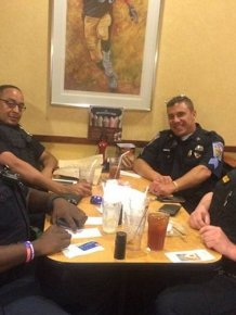 Pennsylvania Cop Picks Up Tab After Rude Customer Refuses To Sit Near Him