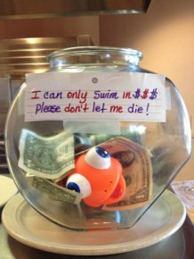 Clever Tip Jars That Helped People Cash In