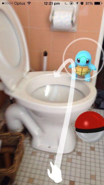 The Craziest Places Where Pokemon Go Fans Have Found Pokemon