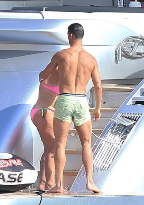 Cristiano Ronaldo Spotted Taking A Holiday In Ibiza