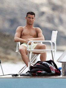 Cristiano Ronaldo Spotted Taking A Holiday In Ibiza
