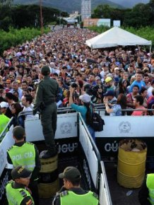 Thousands Of Venezuelans Cross The Border To Columbia For Medicine And Food