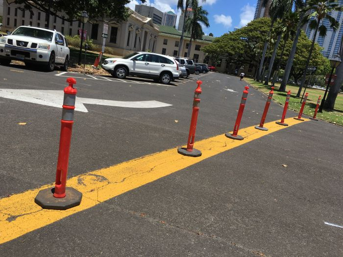 Lahaina Noon Causes Shadows To Stand Up Straight