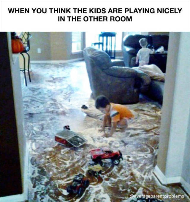 Everyday Problems That All Parents Can Understand