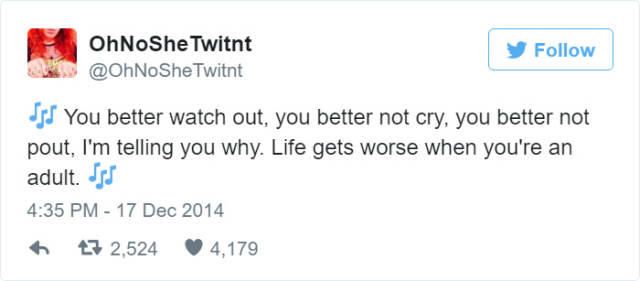 Hilarious Tweets That Sum Up What Being An Adult Is Really Like
