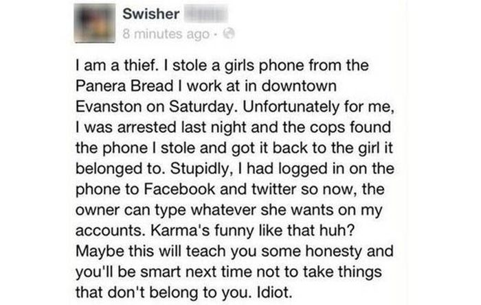 No Matter How Fast You Run You Can't Escape The Wrath Of Karma