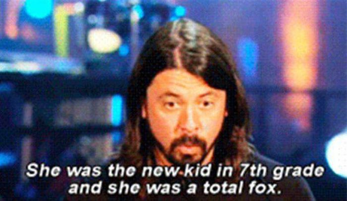 Dave Grohl Shares An Awesome Story About Long Lost Love