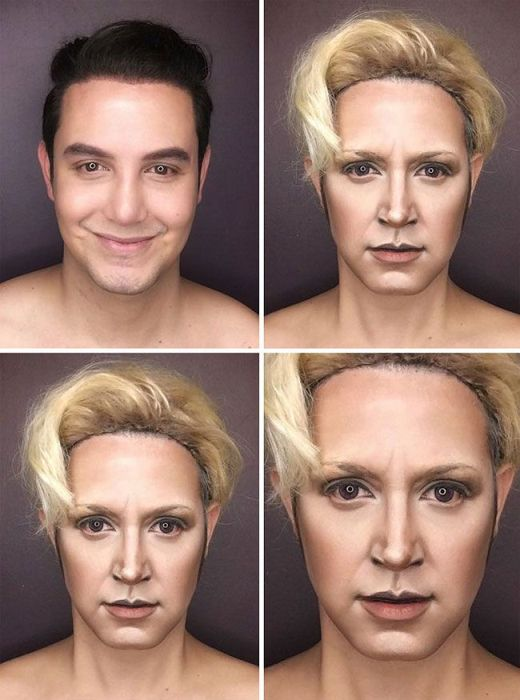 """Makeup Artist Himself Can Replace The Entire Female Part Of """"Game of Thrones"""""""