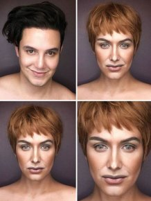 "Makeup Artist Himself Can Replace The Entire Female Part Of ""Game of Thrones"""