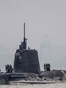 Britain's Most Advanced Sub Forced To Dock After Accident In The Water
