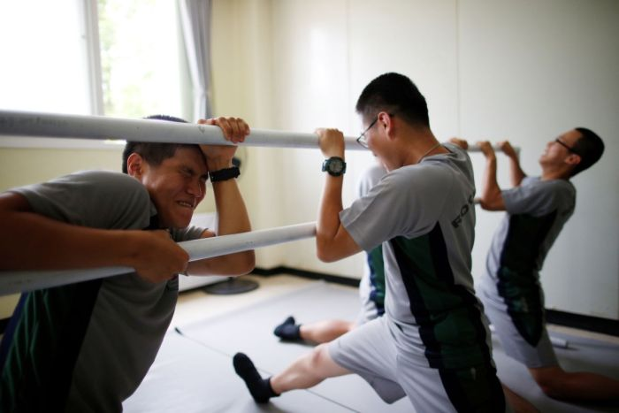 South Korean Soldiers Use Ballet To Battle Stress