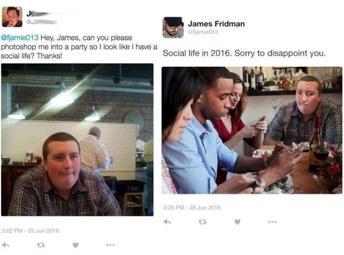 James Fridman Continues To Troll People Asking For Photoshop Help