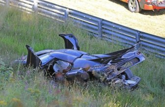 Koenigsegg One: 1 Worth $6 Million Crashes In Germany
