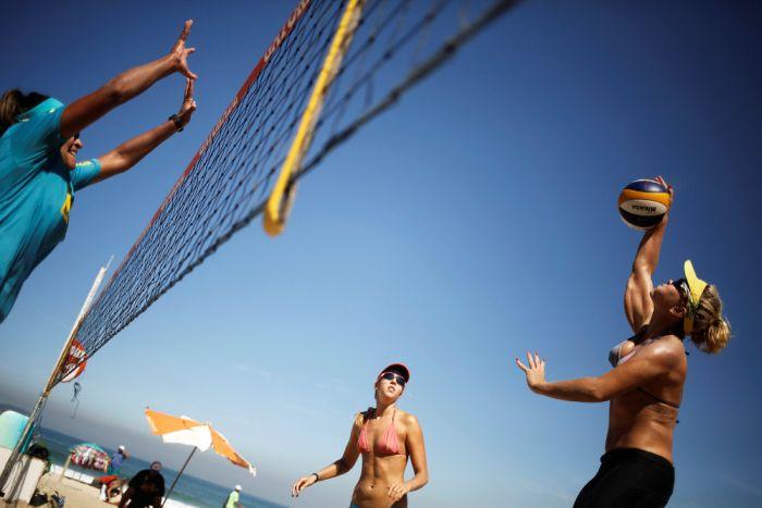 What Beach Life In Rio de Janeiro Looks Like Ahead Of The Olympics