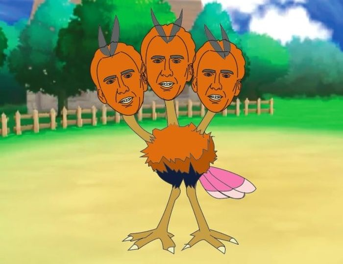 Nicolas Cage As A Pokemon Is Everything You Never Knew You Wanted To See