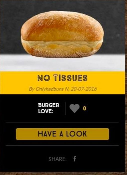 This Is What Happened When McDonald's Let The Internet Create Their Own Burgers