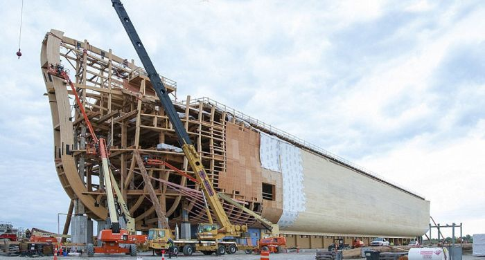 You Can See A Full Size Replica Of Noah's Ark In The US