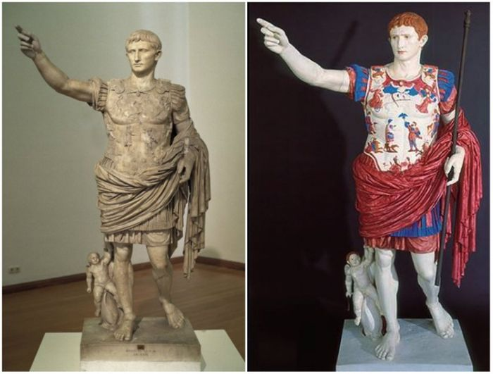 Scientists Use Technology To Provide A New Look At Ancient Sculptures