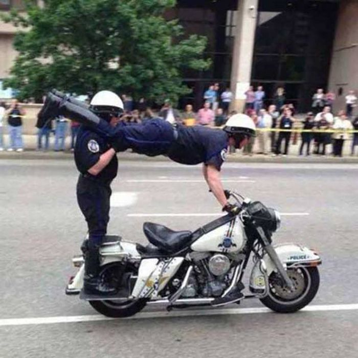 Photos That Prove Some Cops Still Like To Have A Good Time