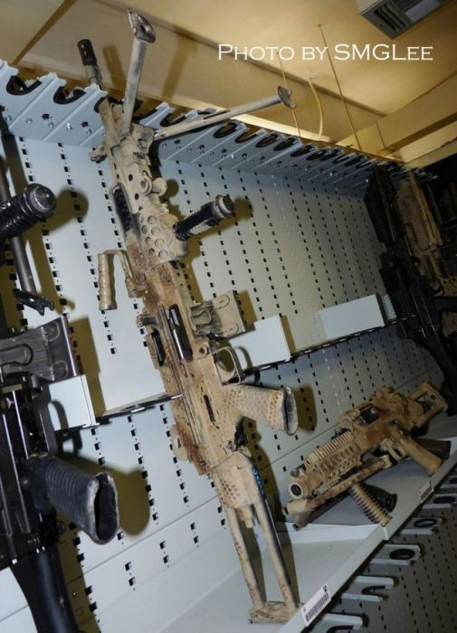 Inside The Armory Of A Navy SEAL Unit