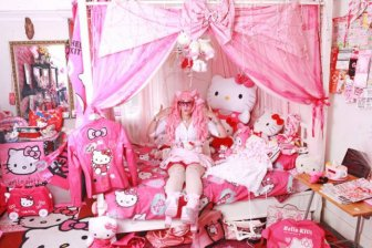 Hello Kitty Fan Spends Big Amount Of Money On Her Obsession