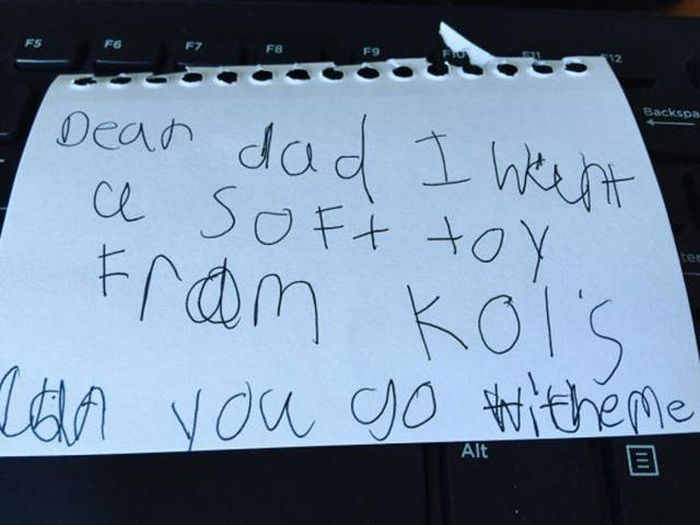 Honest Notes Written By Kids That Will Make You Giggle