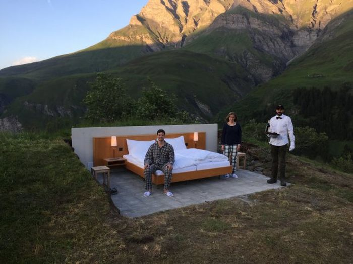 Switzerland's New Concept Hotel Offers A Great Mountain View