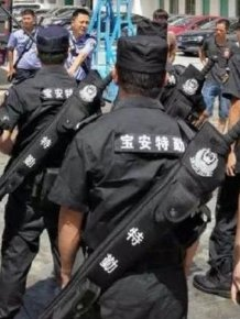 Shenzhen Police Get New Weapon Kits
