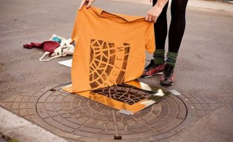 Berlin Artists Create Designer Clothes Using Manhole Covers