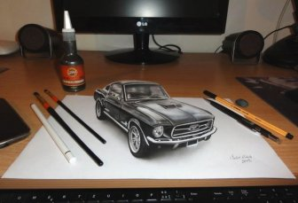 3D Drawings That Will Definitely Mess With Your Head