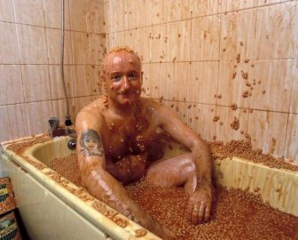 Meet The Man Who Turned His Apartment Into A Baked Beans Museum