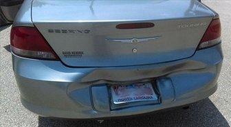 Natural Heat Repairs Car's Bumper