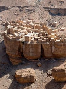 This Yemen Village Looks It's Right Out Of Lord Of The Rings