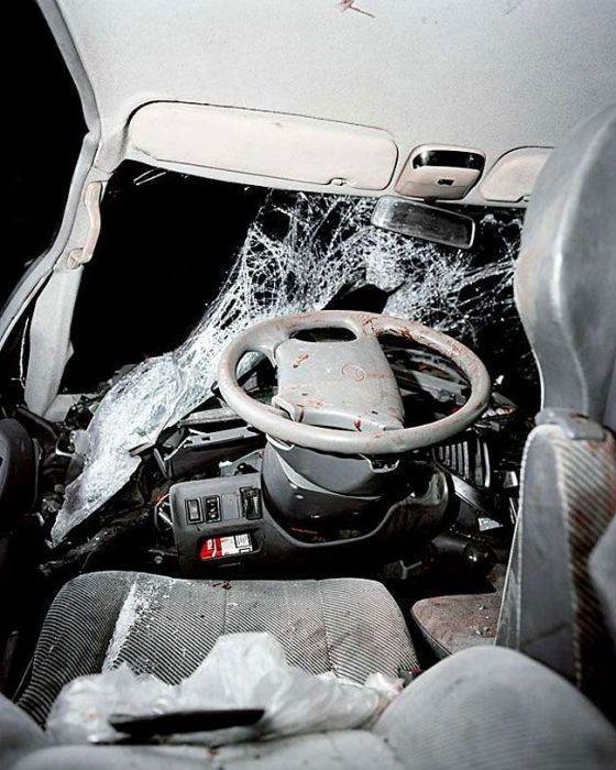 what the inside of a car looks like after an accident vehicles. Black Bedroom Furniture Sets. Home Design Ideas