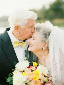 Grandparents Celebrate 63 Years Of Being In Love With The Sweetest Photoshoot
