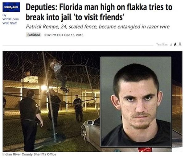 Outrageous Crimes That Couldn't Have Happened Anywhere Else But Florida