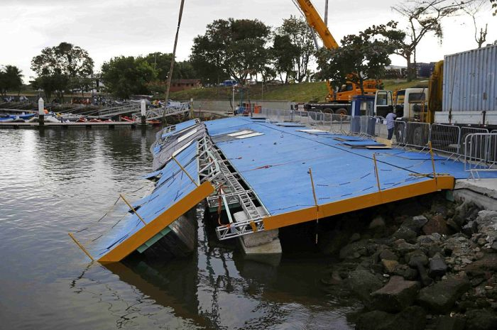 Olympic Sailing Ramp Collapses In Rio