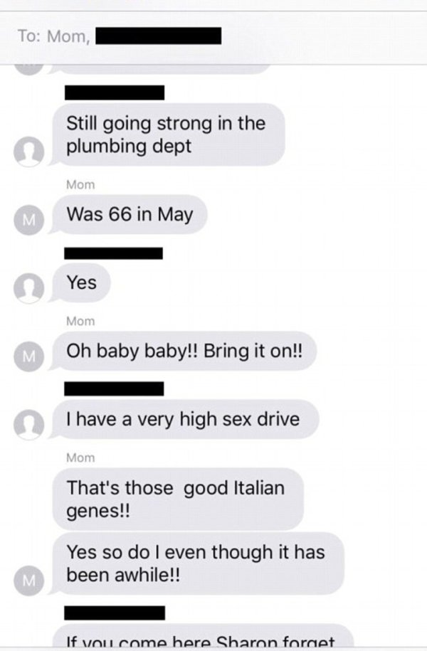 Daughter Gets Added To Her Mom's Sexting Chat And Lives To Tell About It