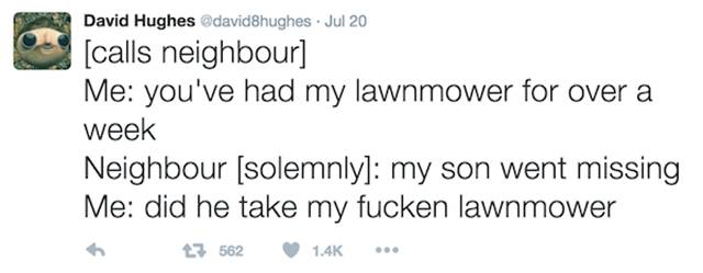 David Hughes Is Definitely One Of The Funniest People On Twitter