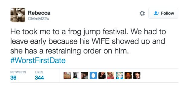 Twitter Users Hold Nothing Back When Describing Their Worst First Dates