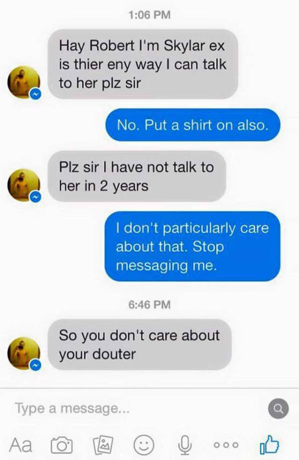 Dad Wrecks His Daughter's Ex-Boyfriend After He Writes To Him On Facebook