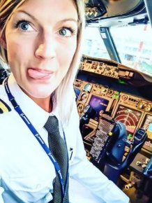 This Gorgeous Blonde Is Sweden's Most Beautiful Pilot